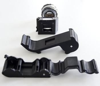 l'appareil photo open reflex est imprimable en 3d grâce à des fichiers