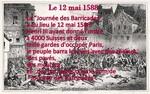 La journée des Barricades 12 mai 1588