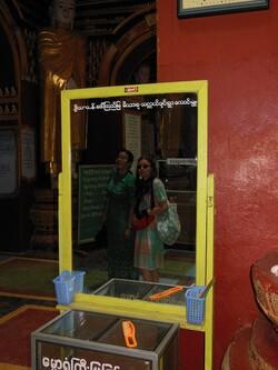Birmanie 2015,jour 10 Pagode Thanbodday intérieur