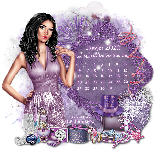 Calendrier et Logo Janvier 2020