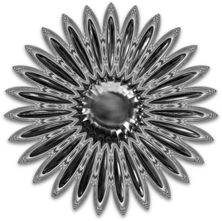 Fleurs chrome