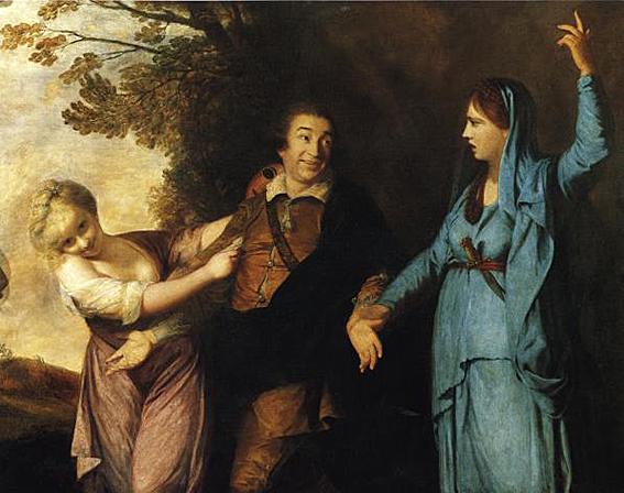 Joshua Reynolds garrick
