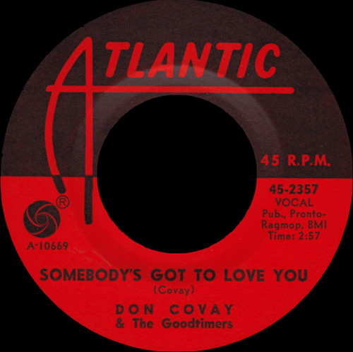 "Don Covay & The Goodtimers : Album "" See-Saw "" Atlantic Records 8120 [ US ]"
