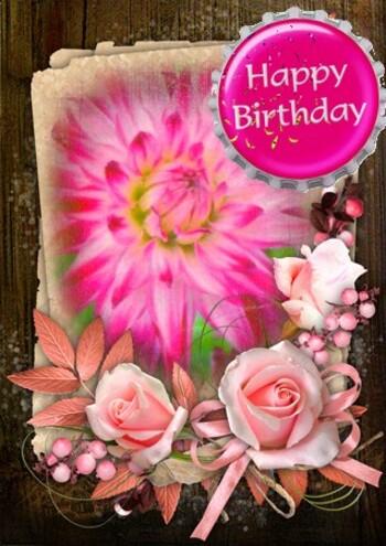 carte bonne anniversaire happy birthday pour vous