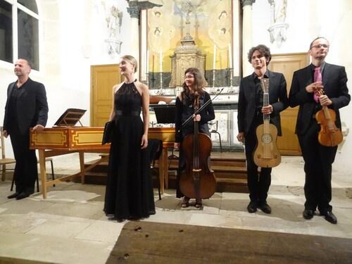 Un beau concert de la Semaine de Saint Vorles, à Faverolles les Lucey...