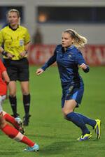 Eugénie Le Sommer : la joueuse vedette de l'équipe de France