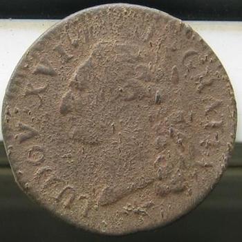 Monnaie Louis XVI avers