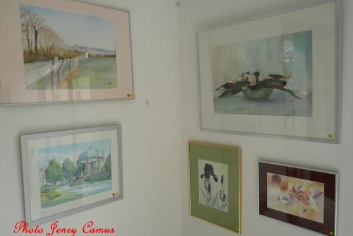 Une belle exposition à l'Annexe 17, galerie d'Art à Recey sur Ource...