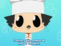 tenue cuisinier
