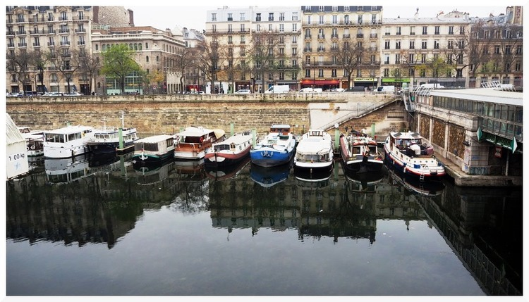 Paris. Port de l'Arsenal