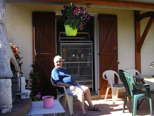 Pierre mon mari et jardinier privé