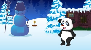 Jouer à Panda Christmas escape
