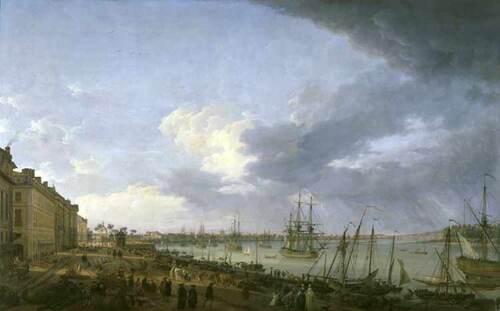 Découvrir le port de Bordeaux au XVIIIe siècle