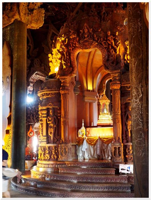 Photos de Thaïlande. Le Sanctuaire de la Vérité 3/3