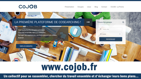 La Première Plateforme de Cosearching ! - www.cojob.fr