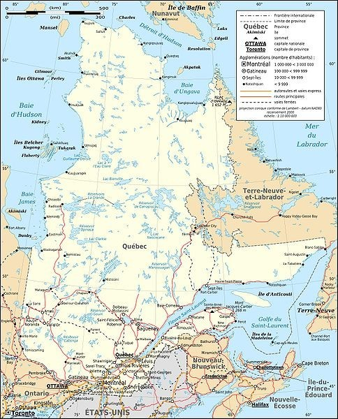 484px-Quebec province transportation and cities map-fr