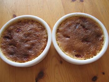 Crème Brûlée aux Framboises