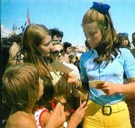 Vacances d'été 1968 : En maillot de bain !