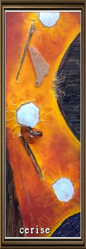 peinture absraite acrylique