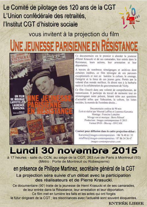 Henri Krasucki : L'esprit de Résistance!