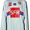 Yannis TAFER : Maillot coupe de France LYON porté 09.01.2010