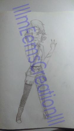 dessin que j'ai fait hier :p