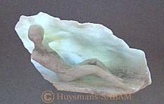 sculpture et jeux de lumière: l'eveil - Arts et Sculpture: sculpteurs figuratifs