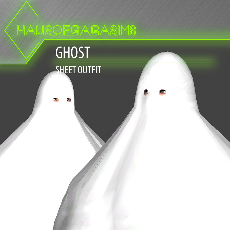 GHOST SHEET OUTFIT