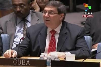 Conseil de Sécurité du 6 août 2013: Déclaration du Ministre des Relations Extérieures de la République de Cuba au nom de la Présidence Pro Tempore de la CELAC.