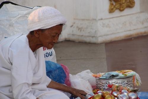 Dans les rues de Vientiane