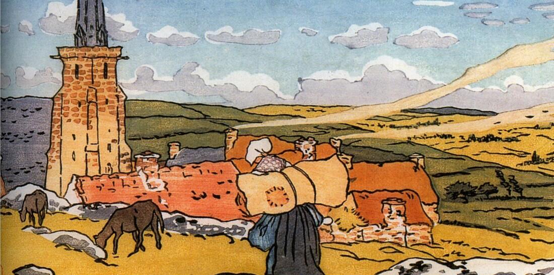 Perros 3 /  1891- enterrement à Trestraou