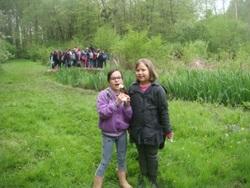 Notre 2ième sortie dans le cadre ENS à l'Etang de Mai sur la commune de Tullins...
