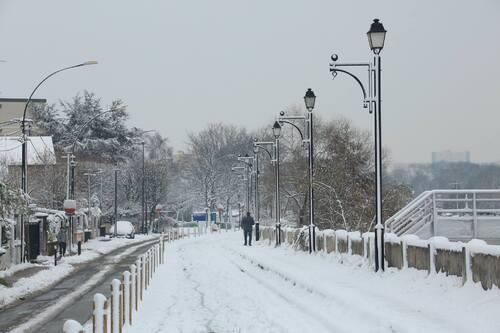 Tempête de neige vendredi sur st maur