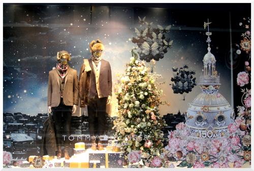 Vitrines Noël 2015 _ Printemps.