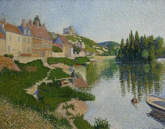 Paul Signac, Les Andelys la berge