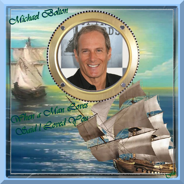 """Michael Bolton  """"When a Man Loves"""" & Said I Loved You"""