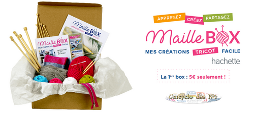 "Collection "" Maille Box : Mes créations tricot facile "" - Lancement VPC"