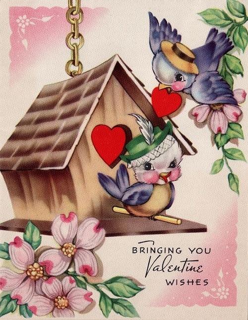 images vintage St-Valentin