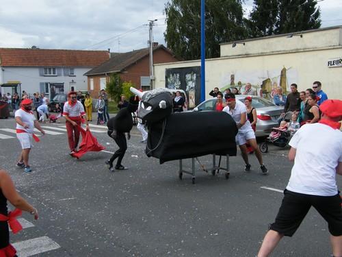 Le défilé carnavalesque de Beaurains
