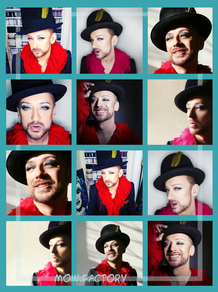 BOY GEORGE - 2013 - By Dean Stockings Part1