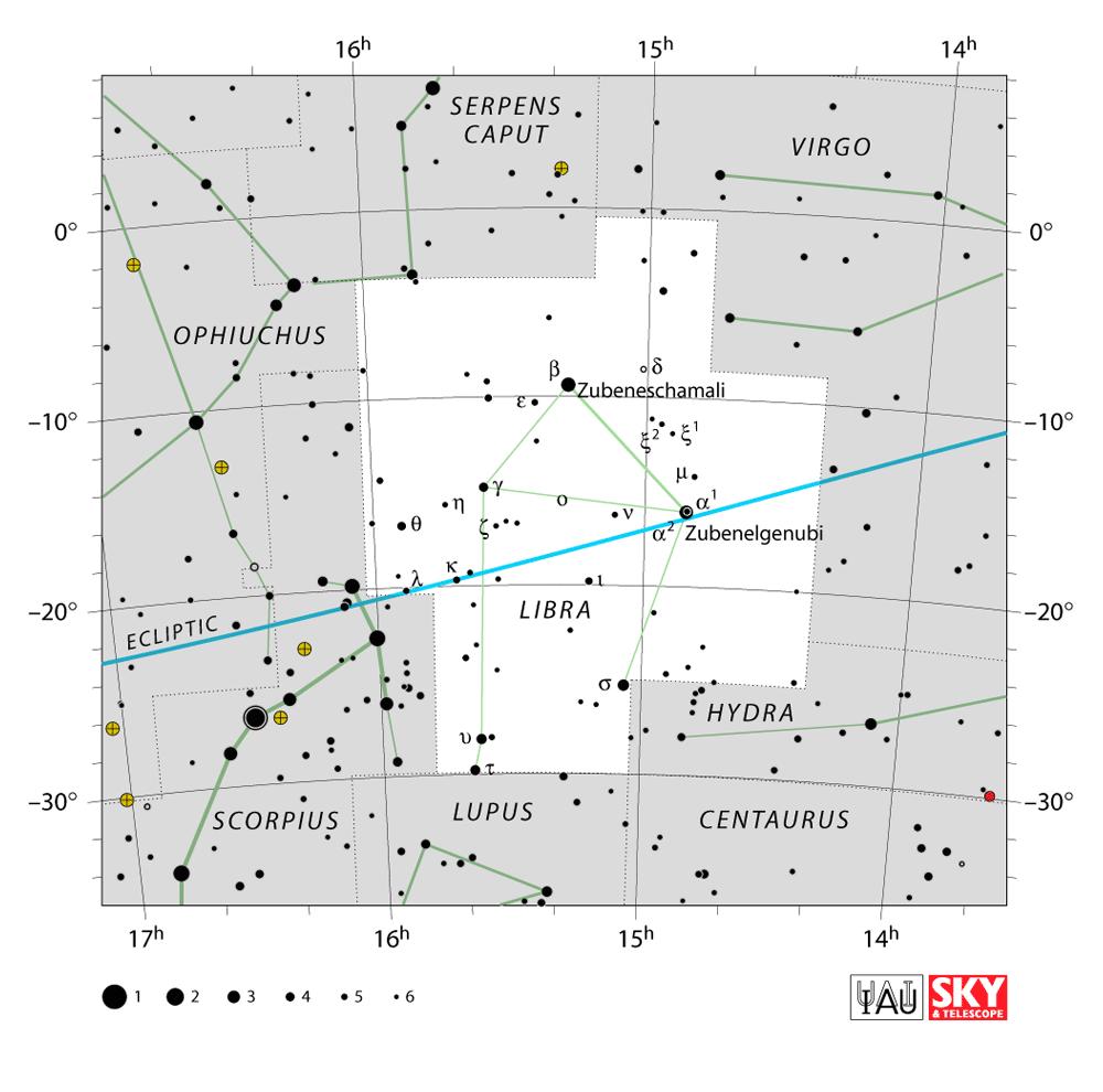 libra map