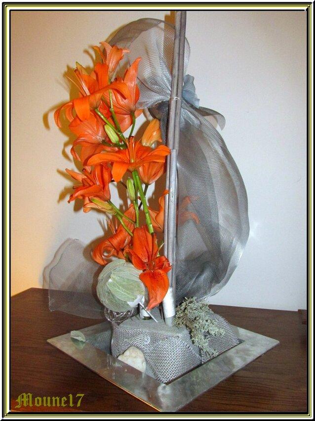 Cours d'art floral du mois de novembre 2016