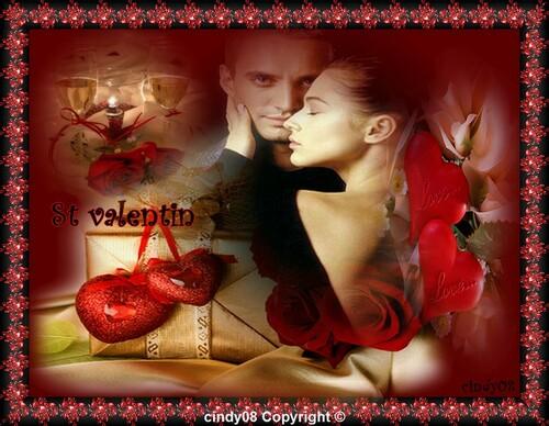 Joyeuse Fête de la saint valentin