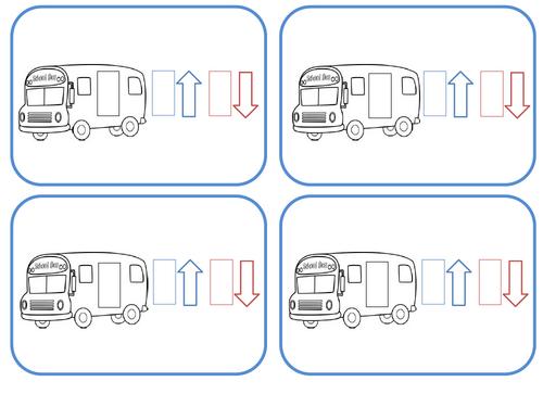 Cartes consignes Jeu du car - MHM