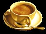 Café et coquelicots