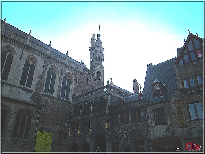 Bruges - Le Burg - L'Hôtel de Ville