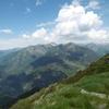 Du sommet du pic d\'Aubas, le Montlude