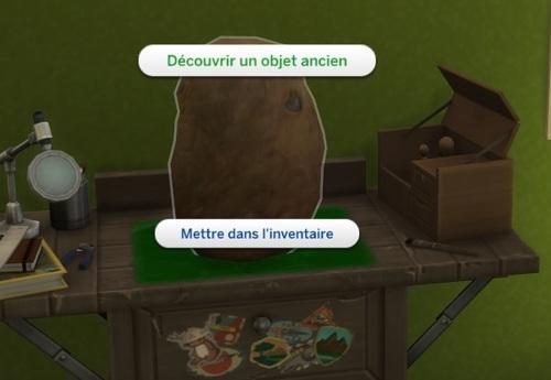 "Compétence ""Archéologie"""