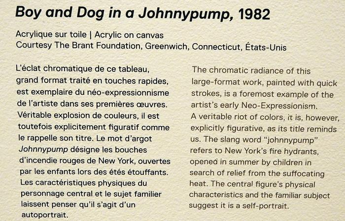 Exposition. Jean Michel Basquiat.