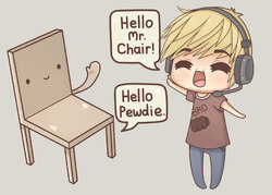 My name is PewdiePie ! ♥♥♥